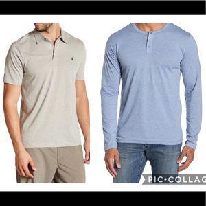 New Men's basic t-shirt bundle size small